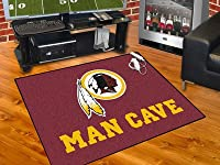 "Washington Redskins Man Cave All-Star Rug 34""x45"" - FAN-14385"