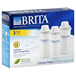 Brita 3-Pack Pitcher Replacement Water Filter 6025835556
