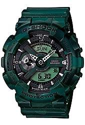 Casio G-Shock X-Large Case Metallic Green Camo Men's Watch GA110CM-3ACR