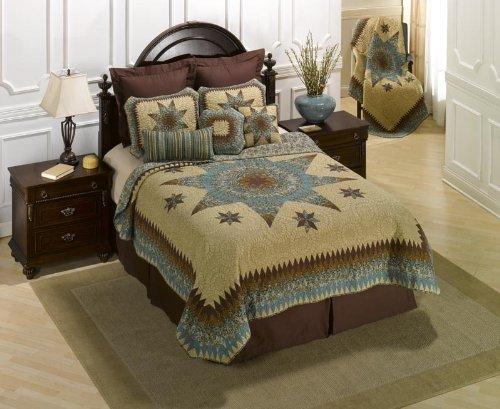 donna-sharp-sea-breeze-star-100-prozent-baumwolle-twin-quilt