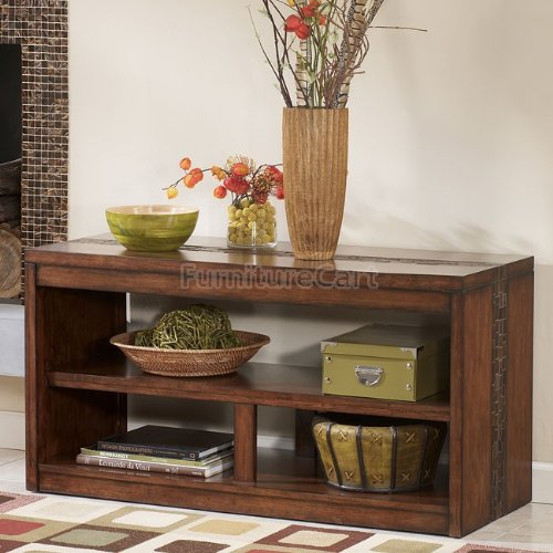 Cheap Rustic Medium Brown Console Table (T675-4)