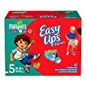 Pampers Easy Ups for Boys (Big Pack), Size 5, 60 Count