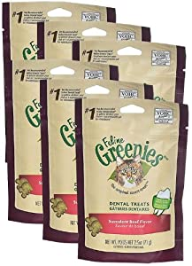 Greenies Felines SUCCULENT BEEF 6PACK (15 oz)