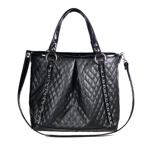 Mia Bossi Quilted Lyndsay Diaper Bag