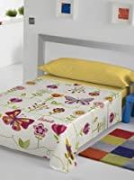 Juego De Sábanas Two Butterflies (Multicolor)