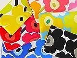 marimekko(マリメッコ) ハギレセット 約30×30cm以上 MINI UNIKKO(ミニ ウニッコ) 3枚1組
