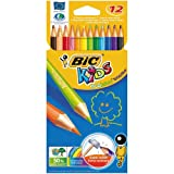 Bic Kids Evolution Colouring Pencils (Pack of 12)