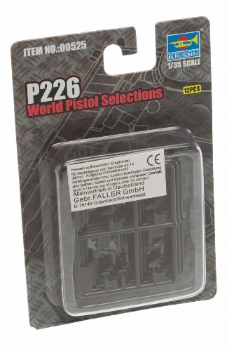 Trumpeter P226 World Pistols, Scale 1/35, 12-Pack