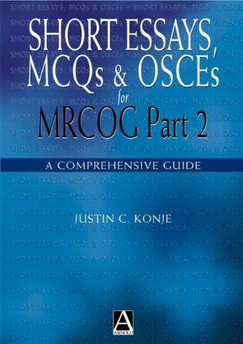 Short Essays, MCQs and OSCEs for MRCOG Part 2 (Medicine) (Osce Canada compare prices)