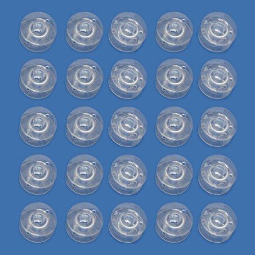25 Macchina da Cucire Plastica Rocchetti, Si Adatta: Janome, Brother, Singer, Toyota ecc.