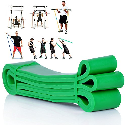[Resistance Bands] E-PRANCE® New Premium Latex Pull Up Exercise Band for Home...