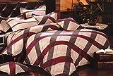 WRAP 100% COTTON DOUBLE BED DUVET SET (1 BEDSHEET 2 PILLOW COVERS & 1 DUVET COVER) CNSD-03