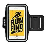 Omaker スポーツアームバンド ランニングアームバンドケース 防汗/調節可iPhone6/7plus/Xperiaなどに対応