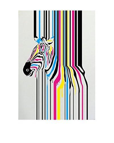 ReallyNiceThings Panel Decorativo Zebra Fusion