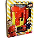 Fireman Sam Utility Belt With Jacket And Accessories - Great Gift Set For Kids 3+