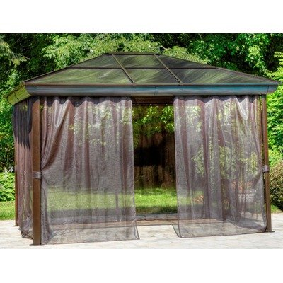 Four Season Gazebo Size: 10' W x 12' D