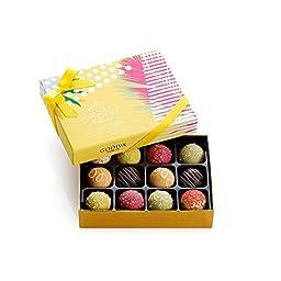 GODIVA Chocolatier 12 pc. Assorted Smoothie & Sorbet Truffle Box