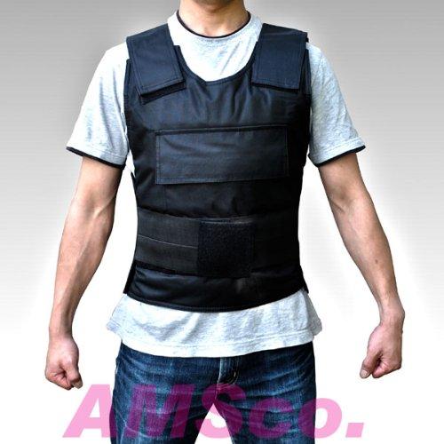 送料無料 ナイフ、刃物、包丁の攻撃から身を守る防護服の防刃ベスト(ぼうはチョッキ)