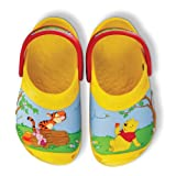 Crocs Kids Creative Winnie The Pooh Jumps Mules and Clogs Sandal