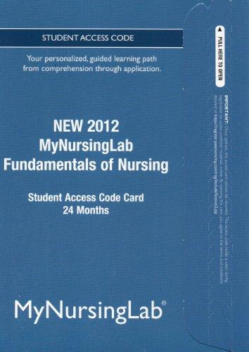 NEW MyNursingLab -- Access Card -- for Fundamentals of Nursing (24-month access)