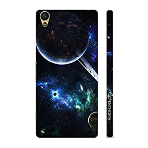 Enthopia Designer Hardshell Case Universe Planets Orbits Back Cover for Sony Xperia Z5