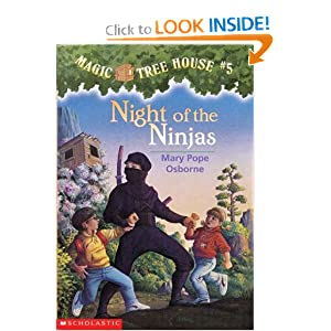 Night of the Ninjas (The Magic Tree House #5)