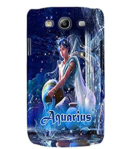 PRINTVISA Zodiac Aquarius Case Cover for Samsung Galaxy S3 I9300
