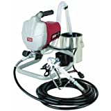 Airless Paint Sprayer Kit Krause & Becker. It Is 5/8 Horsepower. Made From Lightweight Stainless Steel Metal. Easy Cleaning and Durable. Easy Twist Pressure Control by Krause & Becker