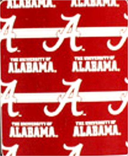 NCAA Alabama Crimson Tide Fleece Throw Blanket 50x60 Alabama Fleece Throw
