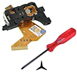 Hde Complete Disk Read Error Fix Kit For Nintendo Wii Gaming System Replacement Laser Lens + Tri Wing Y Tip Screwdriver [Nintendo Wii]