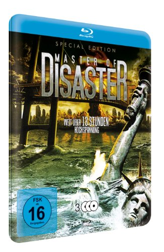 Master of Disaster (Special Edition Metallbox) (9 Filme) [3 Blu-rays]