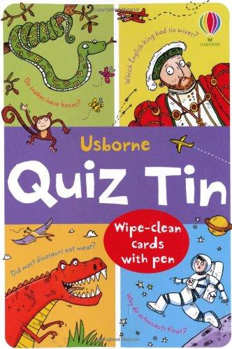 Quiz Tin (Usborne Activity Tins)