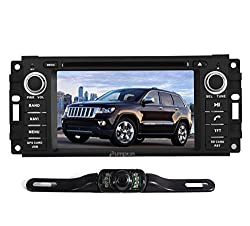 See Pumpkin 6.2 inch For Jeep Can-Bus A / B Car DVD Player GPS/Bluetooth/USB/SD/FM/AM/Radio In Dash HD Touch Screen Car Stereo with Free backup rear view camera (Canbus A) Details