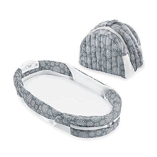 New Baby Delight Snuggle Nest Surround (Grey)