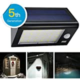 24 LED Solar Lights, [Bigger & Brighter] Amir® Solar Powered Motion Sensor Lights, Solar Energy Led Security Lights with 4 Modes, Waterproof & Auto On/Off, Motion Sensor Light Outdoor for Patio, Deck, Yard, Garden, Home, Driveway, Stairs, Outside Wall
