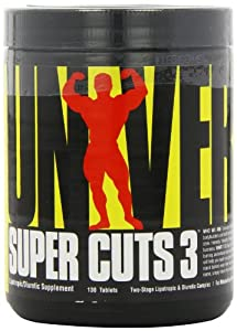 Universal Nutrition Super Cuts 3, 130-Count