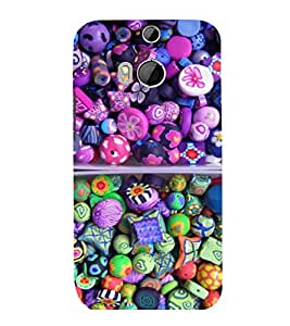 printtech Sweet Candy Back Case Cover for HTC One M9::HTC M9::HTC One Hima