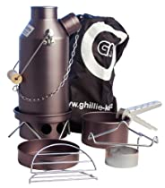 """Ghillie Kettle Maverick .5 Liter Hard Anodized Kettle with """"Cook Kit"""""""