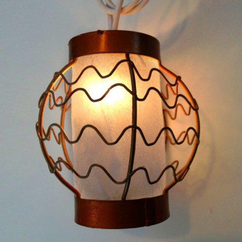 Set of 10 Mini Tokyo Inspired Lanterns- Plug-In String Lights- Expandable up to 150 Mini Lanterns
