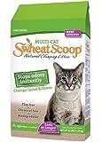 Swheat Scoop Multi Cat Natural Wheat Cat Litter, 25 Pound Bag