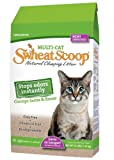 Swheat Scoop Multi Cat Natural Wheat Cat Litter, 25 Pound Bag