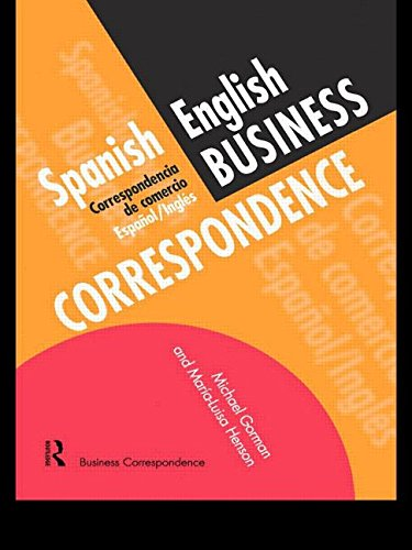 Spanish/English Business Correspondence: Correspondecia de Comercio Espanol/Ingles (Languages for Business)
