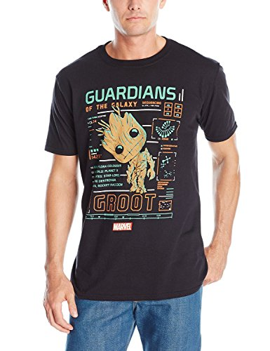 wtfcute Funko Men's Pop! T-Shirts: Guardians Of The Galaxy - Groot Line Up?Medium?