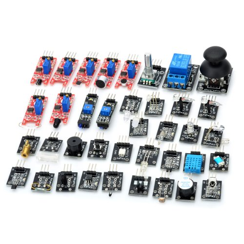 Generic 37-In-1 Sensor Module Kit For Arduino (Works With Official Arduino Boards)