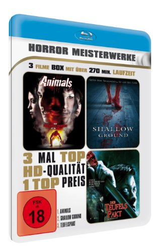 Horror Meisterwerke (Metallbox Edition) (3 Filme Blu-ray