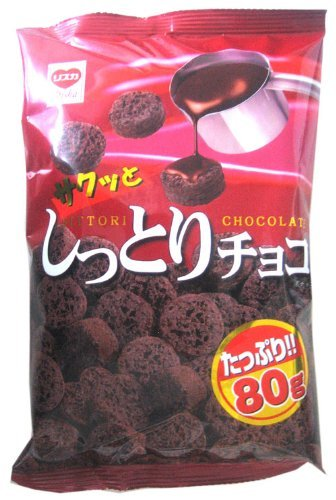 Liska moist chocolate 80g ~ 15 bags