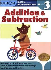 grade 3 addition subtraction kumon math workbooks kumon publishing 9781933241531 amazon. Black Bedroom Furniture Sets. Home Design Ideas