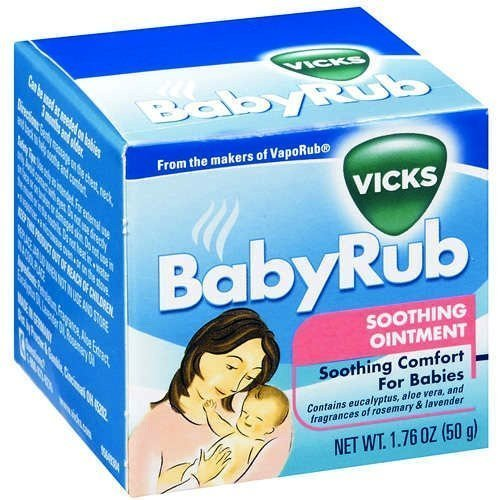 Vicks Baby Rub Soothing Ointment, 1.76 Ounce