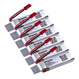 6 pcs of Morpilot® 3.7V 650mAh 20C LiPO Battery with Charging Protection Genuine Parts Obtain Extra Flight Time for UDI U817 U817C U817A U818A 818A-1 2.4G 4CH RC Quad Copters