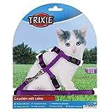 Trixie 4182 Kätzchen-Garnitur, Kätzchen/kleine Katzen, Nylon, 19-31 cm/8 mm -
